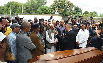 Funerale Souleman Magenta
