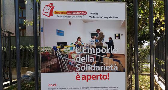 """A Saronno è partito """"Legami che nutrono"""", una mano in più alle famiglie in difficoltà"""