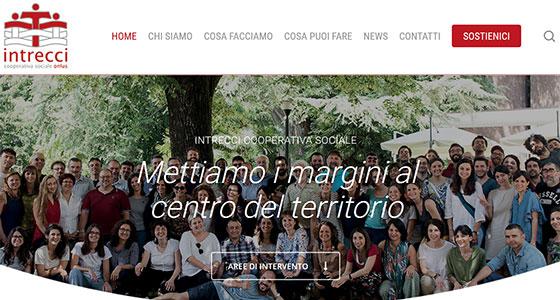 Il sito internet di Intrecci ha un nuovo volto