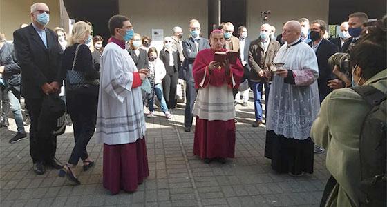 La benedizione dell'Arcivescovo